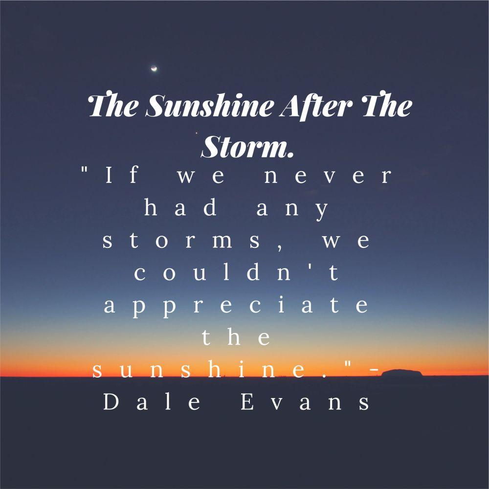 the sunshine after the storm. – ayietim blog